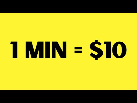 Earn $10 Every Minute With New App (Make Money Online)