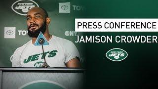 Jamison Crowder Postgame Press Conference   New York Jets at Washington Redskins   NFL
