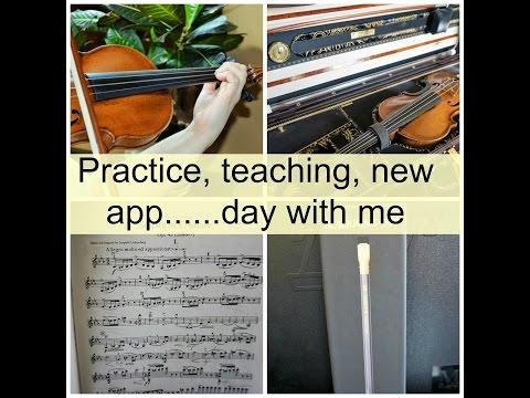 Vlog- practice, teaching  new app