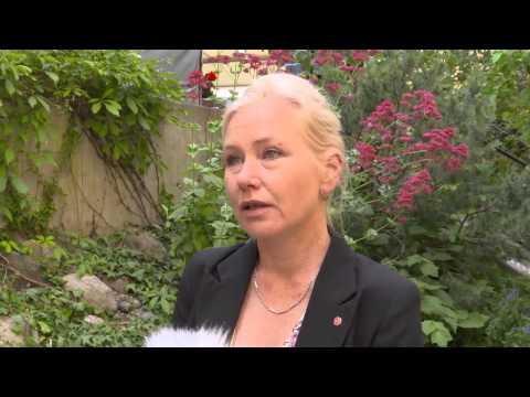 Intervju med infrastrukturminister Anna Johansson (S) i Öresundshuset