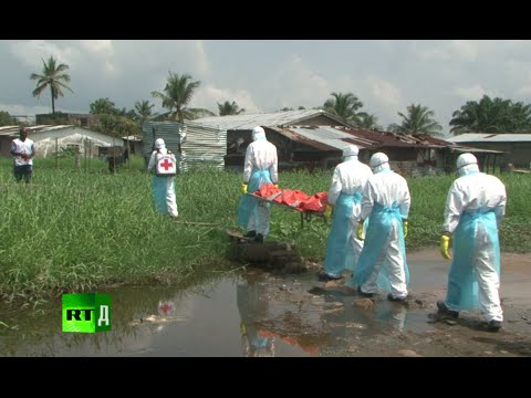 Ebola Warriors. Red Cross workers in Liberia battling the de