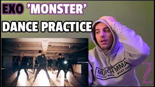 DANCER REACTING: EXO 'Monster' Dance Practice #EXO #엑소 #MONS…
