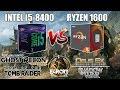 i5 8400 VS Ryzen 1600 + GTX 1070 - 1080p Gaming Benchmarks - Low/Ultra
