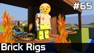 Brick Rigs PL [#65] SUPER Tor Przeszkód z PUŁAPKAMI /z Plaga