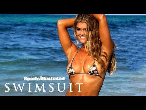 Nina Agdal Shows Off One Of The Tiniest Bikinis She's Ever Worn | Sports Illustrated Swimsuit