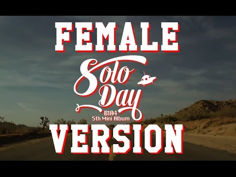 (Female/Chipmunk Ver.) B1A4 - Solo Day
