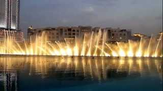 Dubai Fountains - Whitney Houston - I Will Always Love You