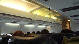 Boeing 737 Полет Бишкек-Ош.