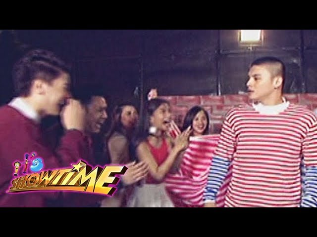It's Showtime Copy-Cut: The Team Boys and Team Girls tease Hashtag Ronnie