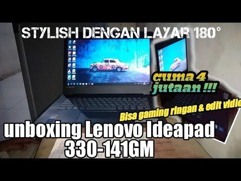 Unboxing dan review Laptop Lenovo Ideapad 330 || Laptop performa memukau dengan harga terjangkau