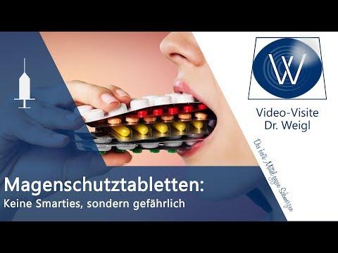 Magenschutztablette Pantoprazol, Omeprazol: Sind Magenschutzmittel, Protonenpumpenhemmer Gefährlich?