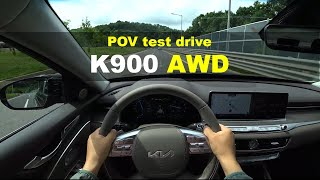 2022 KIA K900(the new K9) POV test drive