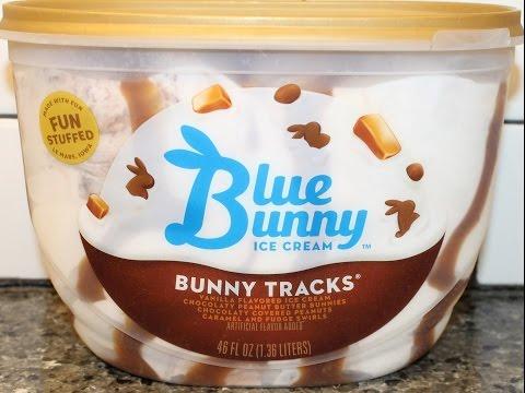 Blue Bunny Ice Cream: Bunny Tracks Review