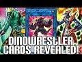 NEW CARDS! Yu-Gi-Oh! Dinowrestler Cards Revealed | Dinosaur Wrestler Archetype