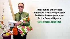 Do it + Garden Migros: Neueröffnung Zugerland - 24h-Projekt