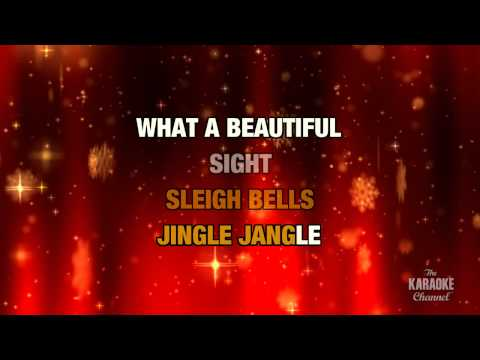 """Here Comes Santa Claus in the Style of """"Traditional"""" with lyrics (no lead vocal)"""