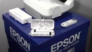 Мини-обзор интерактивного проектора Epson EB-595Wi