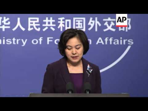 Chinese Ministry Of Foreign Affairs Spokesperson On Boston Blasts, NKorea