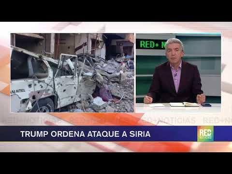 RED+ | Estados Unidos bombardea a Siria