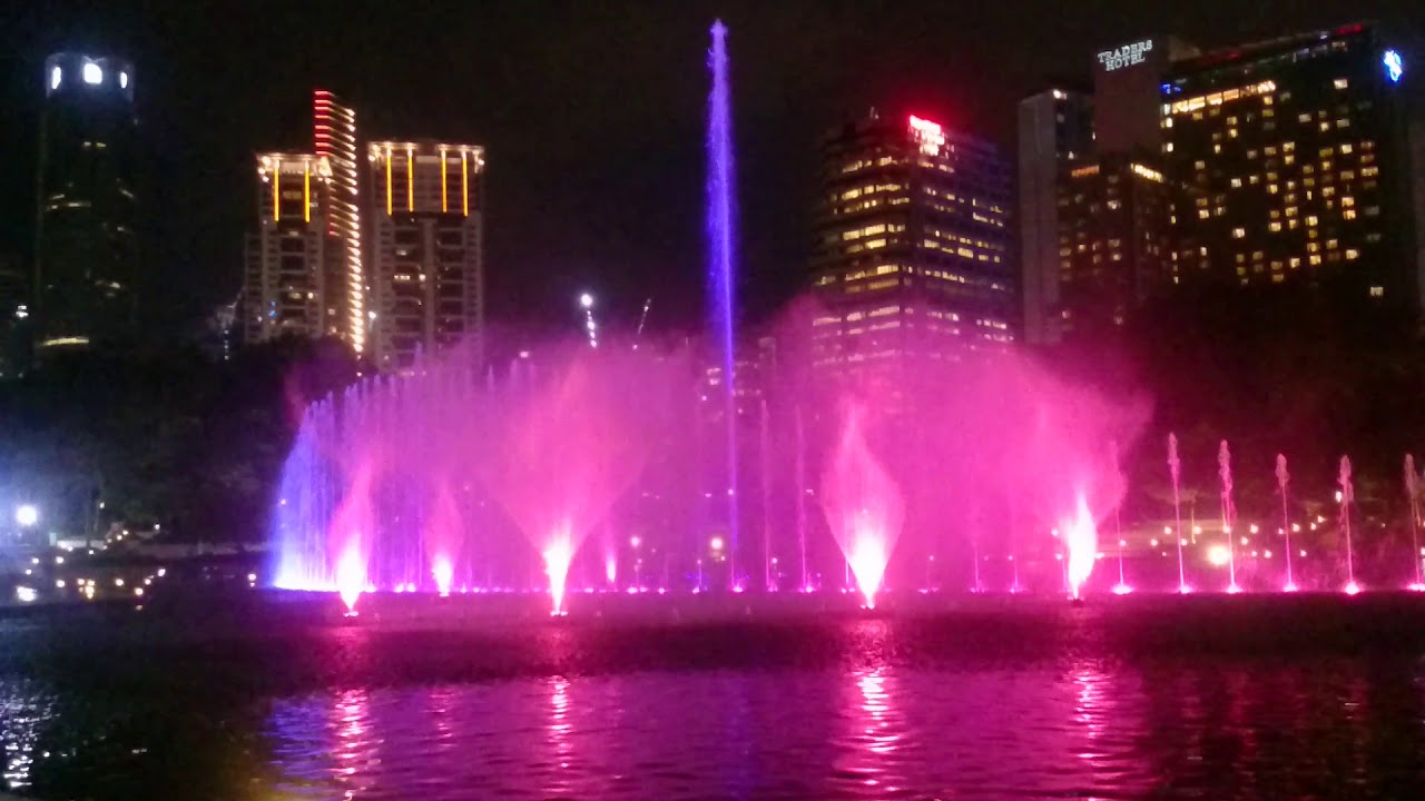 Kuala Lumpur Malaysia Pemandangan Malam Hari Youtube