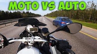 МОТОЦИКЛ 165 л.с. VS  АВТО 400 л.с. | Заруба с Давидычем | BMW S1000R vs Audi RS Q3