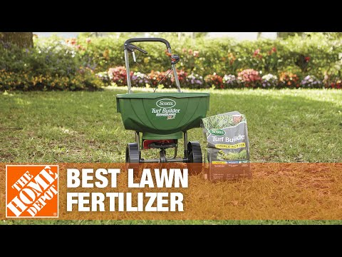 Best Lawn Fertilizer >> Best Lawn Fertilizer For Your Yard The Home Depot