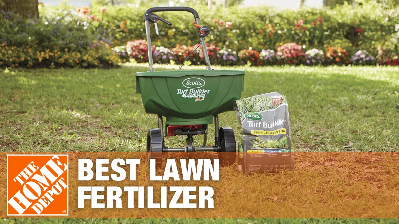 Best Lawn Fertilizer For Your Yard - The Home Depot