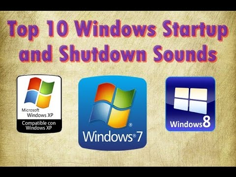 Top 10 windows startup and shutdown sounds youtube for Windows 95 startup sound