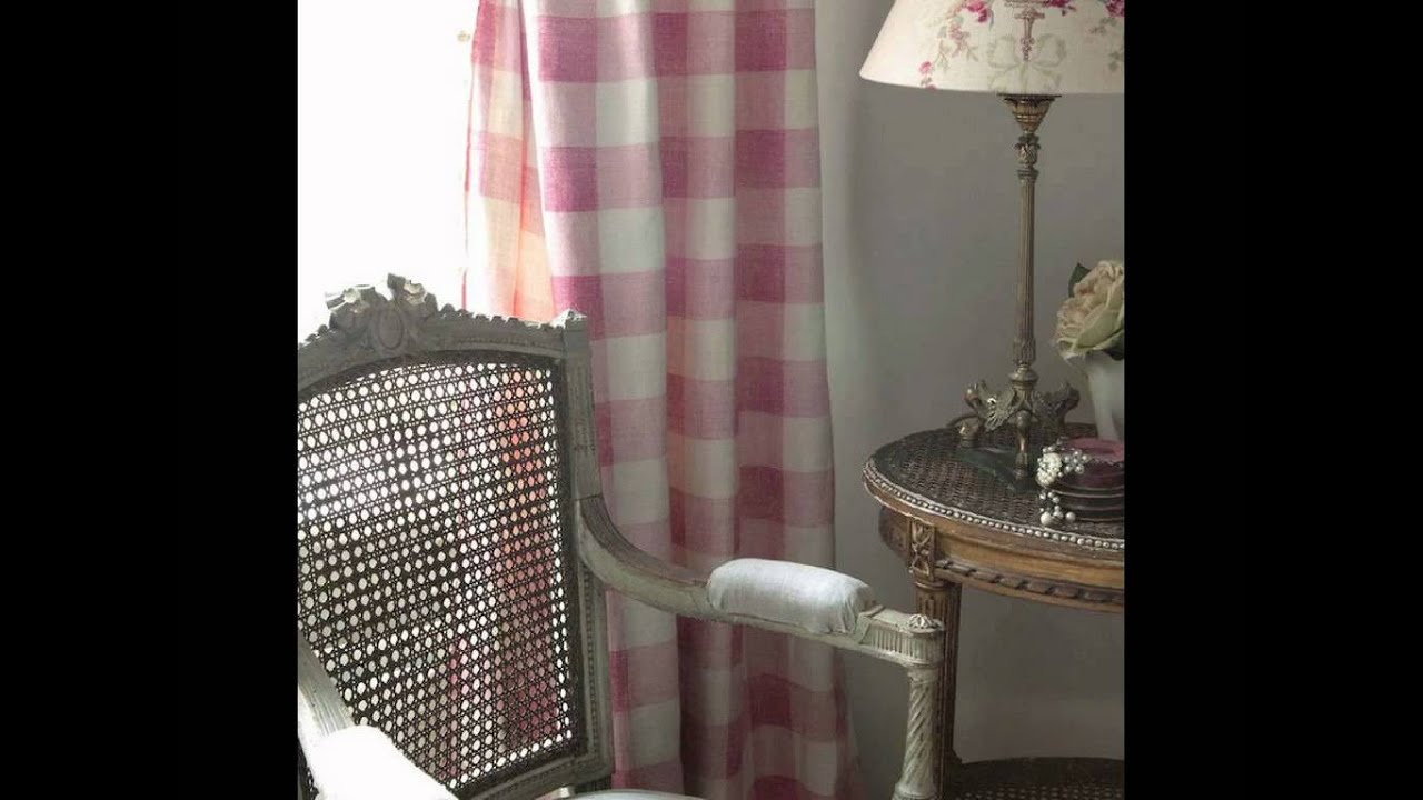 Tela de cuadros shabby chic youtube - Telas para tapizar sofas ...