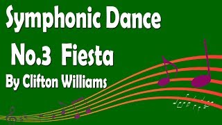 Symphonic Dance No.3 (Fiesta) by Clifton Williams