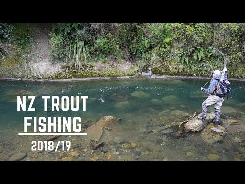 NZ Trout Fishing Opening Day. The Best River Ever!!