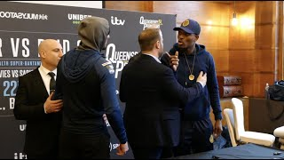 FIERY!!! KODY DAVIES & UMAR SADIQ CLASH AS THEY COME FACE TO FACE, WORDS EXCHANGED