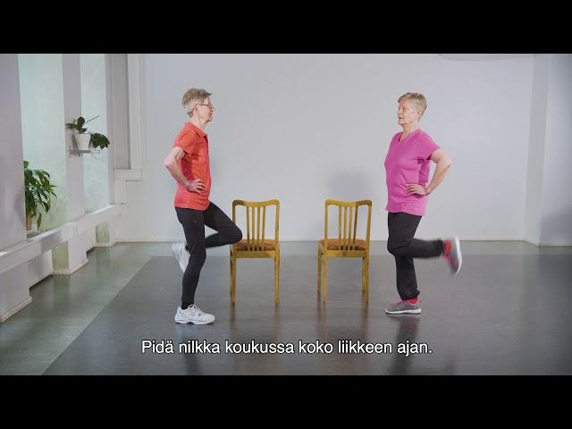 Ikäinstituutti: Keskitasoinen Voitas jumppa 1