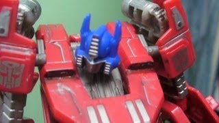 Transformers Fall of Cybertron : Optimus Vs Shockwave Stop-Motion