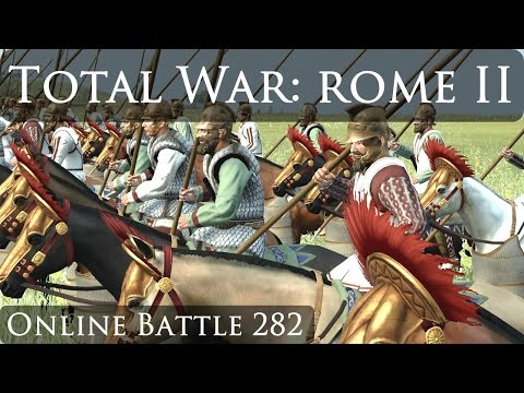 Total War Rome 2 Online Battle Video 282