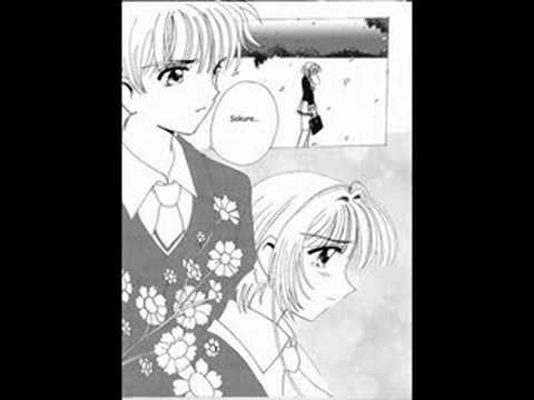 The first kiss the Sakura and Syaoran