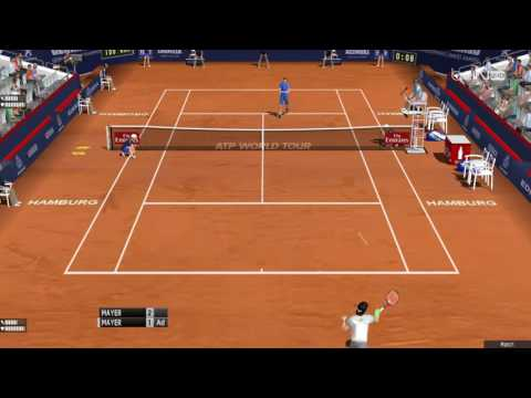 Tennis Elbow 2013 - Mayer vs Mayer - Hamburg 2017 Final Gameplay
