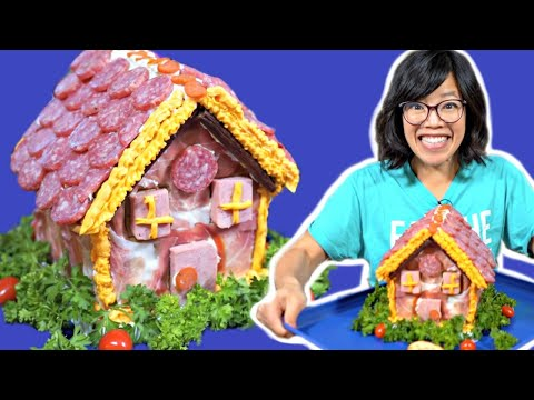 How to Make a MEAT House - Christmas Recipe