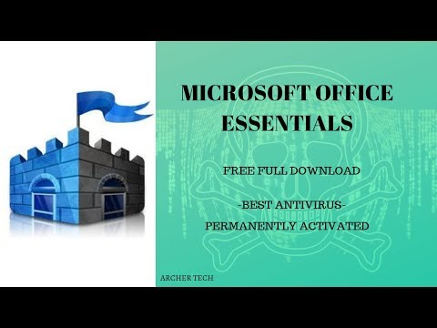 FREE MICROSOFT SECURITY ESSENTIALS Anti Virus And How To Install 2020