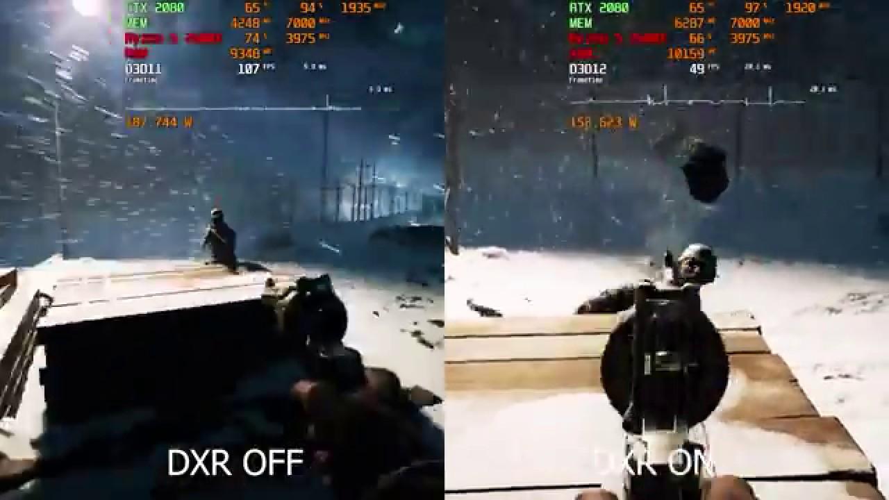 Battlefield 5 - RTX 2080   DXR Ray Tracing Benchmark   1920x1080 Ultra
