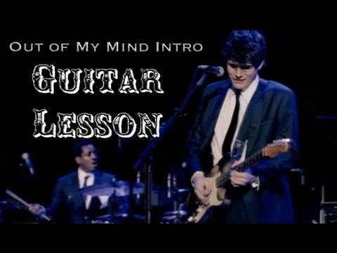 John Mayer- Out of My Mind (Live in LA) Intro Guitar Solo Tutorial Lesson