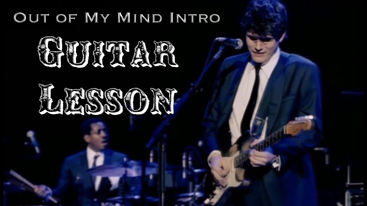 how to play out of my mind john mayer