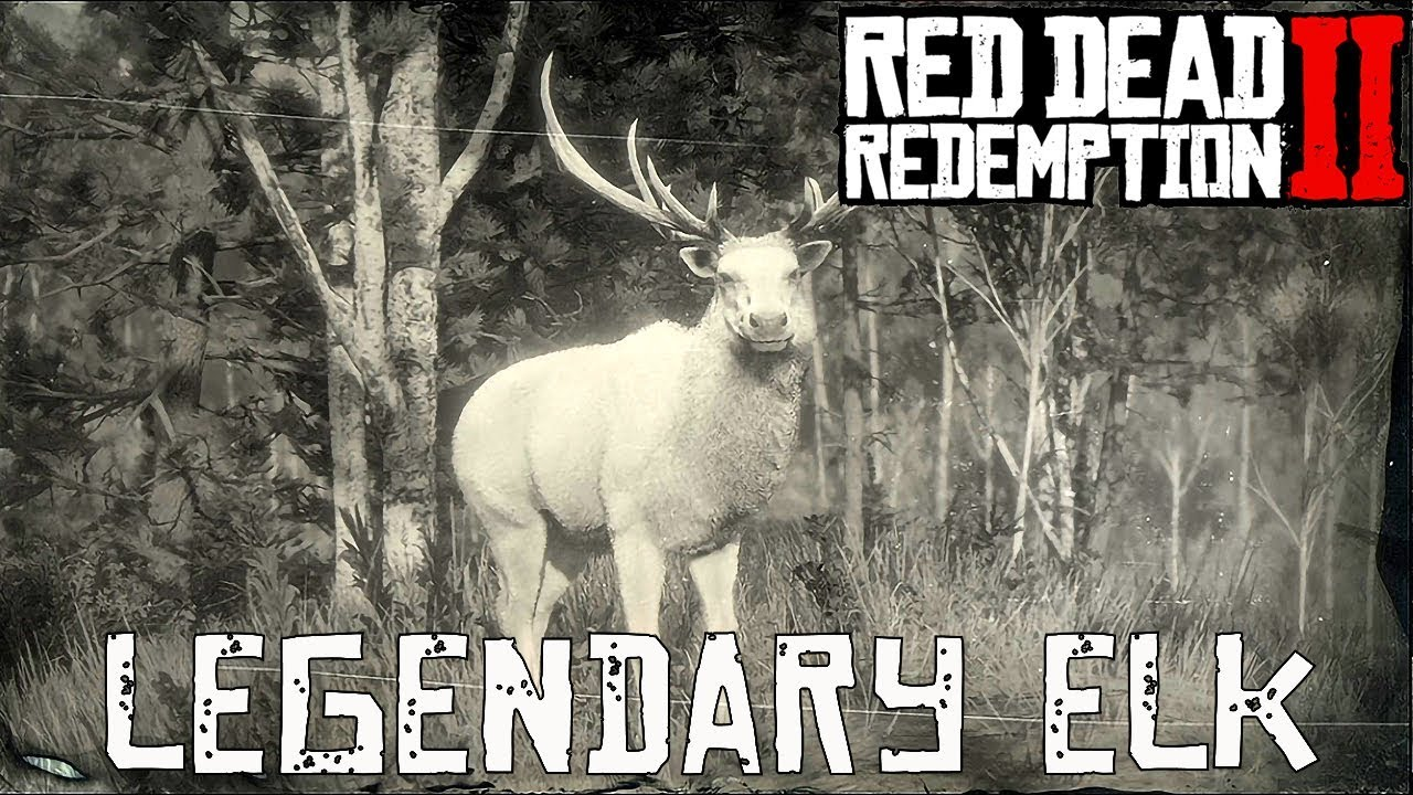 Red Dead Redemption 2 Legendary Animals elk
