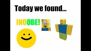 "Roblox Meeting YouTuber ""INOOBE"" 
