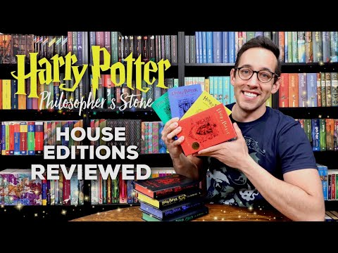 Harry Potter 20th Anniversary House Editions | Philosopher's Stone