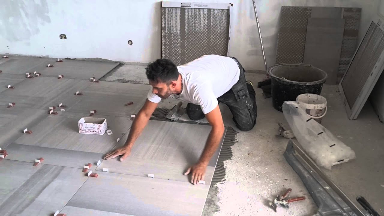 Top posa gres porcellanato formato 80x80 - YouTube EV41