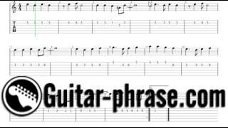 طريقة عزف اغنية حلوة يا بلدي على الجيتار للمبتدئين -تاب جيتار ونوتة -موقع جيتار فريز لتعليم الجيتار