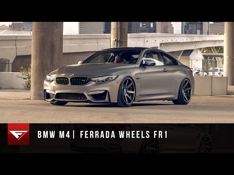 2015 BMW M4 | Ferrada Wheels FR1| Staggered Rims | Bagged | Air Ride Suspension