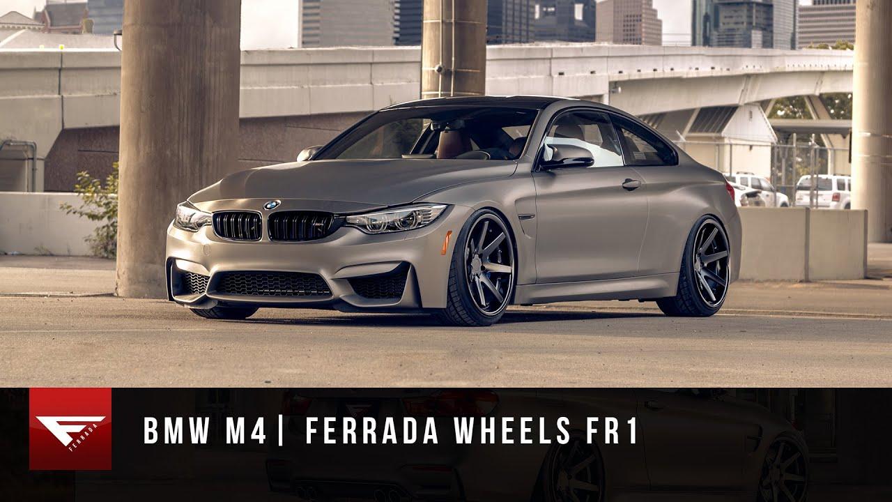 2015 Bmw M4 Ferrada Wheels Fr1 Staggered Rims Bagged
