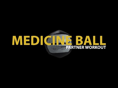 Medicine Ball Partner Workout